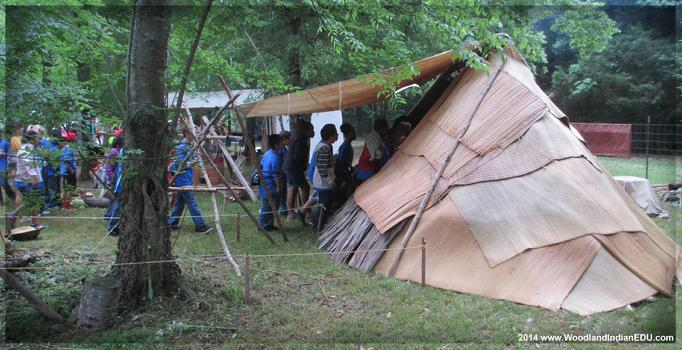 Woodland indian educational programs for Indian mound fish camp