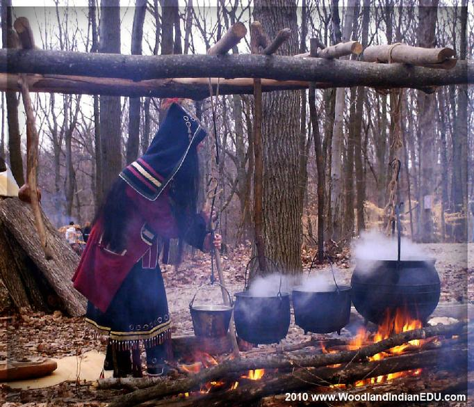 Native American Maple Sugaring