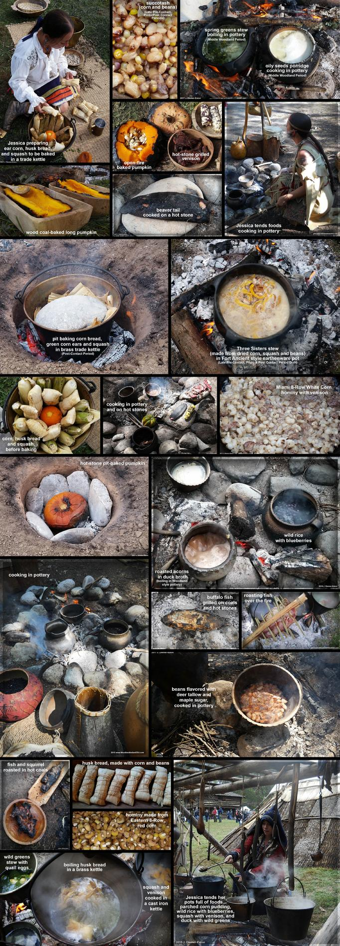 Native American Indian Cooking Foodways